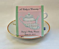 Tea Baby Shower Favors by Baby Shower Teabag Favors Great For Bridal Shower Or Tea