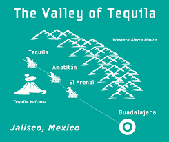 Jalisco Mexico Map Spirit Of Jalisco Tequila Distillery Tours