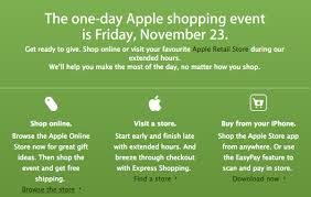 apple black friday apple posts black friday teaser for canada and the usa update