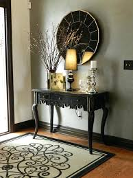 Inside Entryway Ideas Console Table With Wall Mirror Wall Dressing Table With Mirror