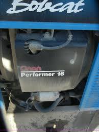 miller bobcat 225 propane welder generator item d4704 so