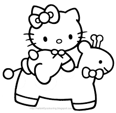 sublime photograph about hello kitty coloring pages on computer