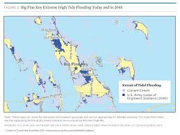 Map Of Pine Island Florida by Tidal Flooding And Sea Level Rise In The Florida Keys 2015