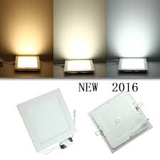 Square Recessed Ceiling Light Fixtures 15w Led Panel Lights Warm White Square Recessed Smd Led Ceiling