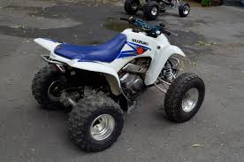 fs 2006 suzuki ltz 250 z250 white blue great little quad