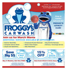 froggy u0027s carwash on behance