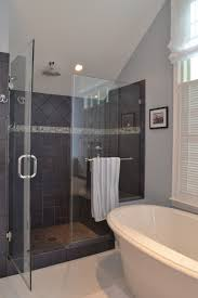 Tile Ready Shower Bench Ideas Large Shower Tile Photo Large Tile Shower Pan Large Tile
