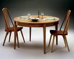 Shaker Dining Room Chairs Round Table Shaker Inspired Round Table Round Extension Table