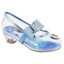 disney toddler u0027s cinderella dress shoe clear