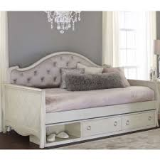 angela opal grey upholstered daybed from ne kids coleman furniture