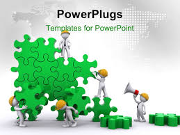powerpoint template leadership and responsibility to build