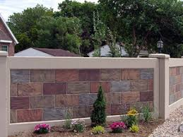 Brick Wall Fence Designs Nihome - Brick wall fence designs