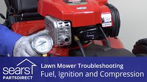 lawn mower won u0027t start fuel ignition and compression problems
