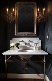 wall mount sink legs dark walls brass console sink legs marble top and back wall