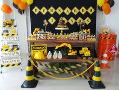 Construction Party Centerpieces by Construction Party Printables Henry U0027s First Birthday Party