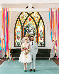 colorful retro wedding inspiration at the ruby street in los