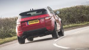 range rover modified red 2016 range rover evoque hse luxury dynamic caricos com
