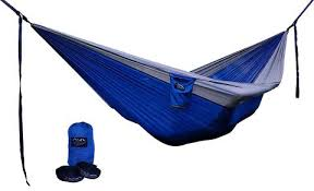 potomac banks double parachute hammock with carabiners and pair of ad