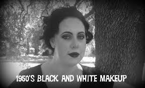 1950 u0027s tv show black and white halloween tutorial youtube