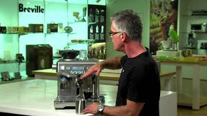 breville bes980t1 coffee machine youtube