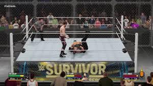 wwe 2k16 ps4 british bulldog vs x pac vs rikishi full match wwe 2k16 triple threat hell in a cell match sami zayn vs kevin
