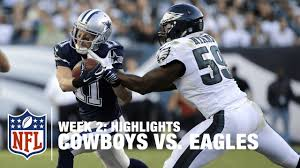 cowboys vs eagles week 2 highlights nfl