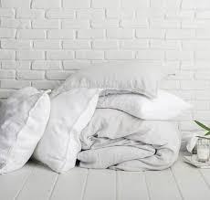 White Linen Duvet On My Wishlist Linen Duvet York Avenue