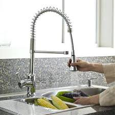 kitchen sink and faucet combinations kitchen sink faucet combo in stainless steel chrome by undermount