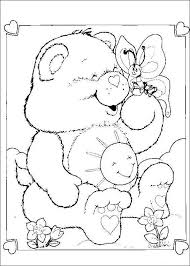 care bears coloring pages 1 coloring kids