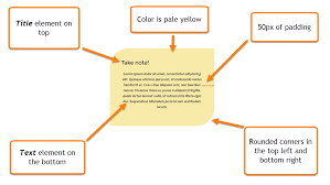 color block float your content on a block of color