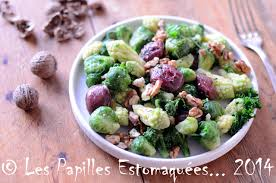 comment cuisiner le chou romanesco salade de choux bruxelles romanesco brocoli kale aux gésiers de