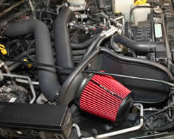 cold air intake for jeep 1997 2006 jeep wrangler tj 4 0l cold air intake system from