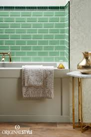 victorian green dentil moulding tile metro tiles wall tiles and