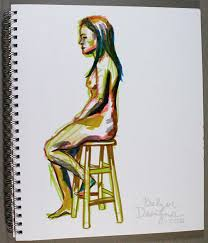 balzer designs quick figure drawing sketches at the boston