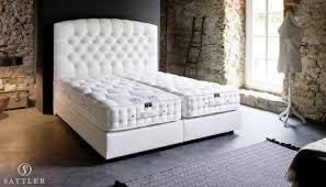 boxspringbett weiss boxspringbett aida 160x200 luxusbetten von sattler