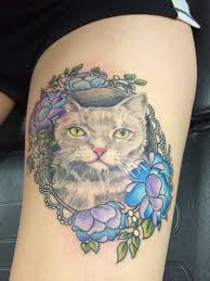 50 and lovely cat tattoos