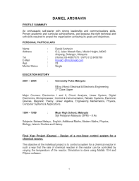 Resume Sample Job Application Malaysia by Format Of Cv In Malaysia