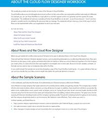 Cloud Flow Designer Workbook