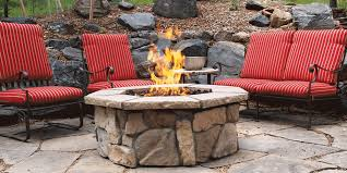How To Build A Gas Firepit Northfield Fireplace Grills Pits