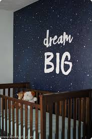 Designing A Wall Mural Vintage Modern Navy And Gray Nursery Focal Wall Nursery And Walls