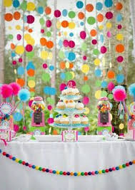 Rainbow Party Decorations Rainbow Party Decorations Rainbow Centerpiece Used Preschool