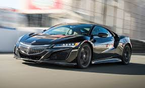 2017 acura nsx first drive u2013 review u2013 car and driver