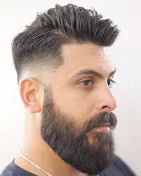 hair cut with a defined point in the back best 25 mens hairstyles with beard ideas on pinterest mens hair