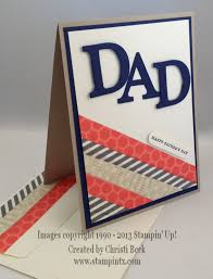 stampintx father u0027s day card ideas