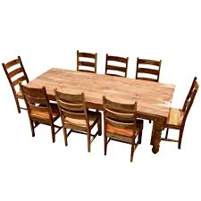 dining room table and chair set solid wood farmhouse dining room table chair set