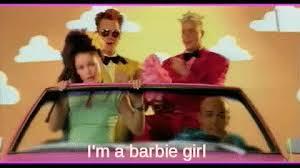 I M A Barbie Girl Meme - columns chad whittle