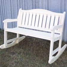 Garden Rocking Bench Prairie Leisure Design Garden Rocker Bench Reviews Wayfair