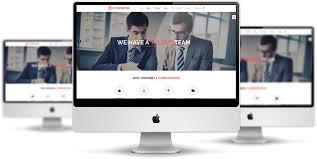 lt corporation onepage u2013 free one page joomla corporate website