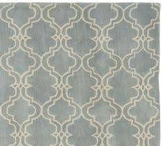 Pottery Barn Scroll Rug Jen U0027s Office Or Master Bedroom Scroll Tile Rug Indigo Blue