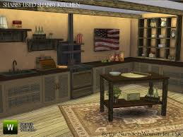the sims 4 custom content shabby chic kitchen set sims community